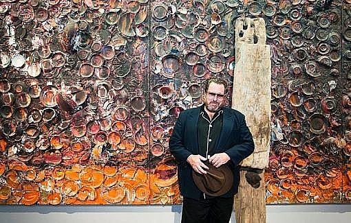 Julian Schnabel también es pintor
