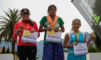 María Lorena Ramírez, corredora rarámuri, gana una un maratón internacional
