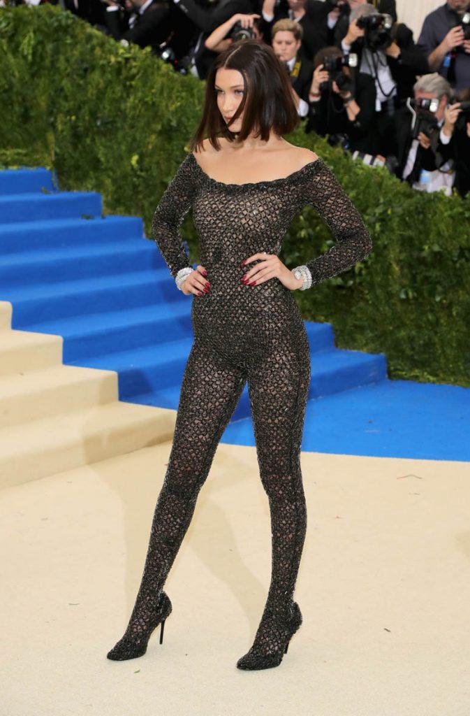 Bella Hadid en la Gala del Met