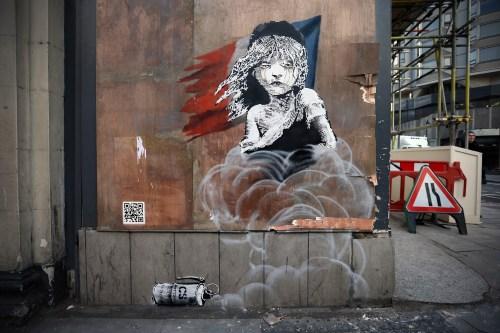 Banksy y su versión de Los Miserables
