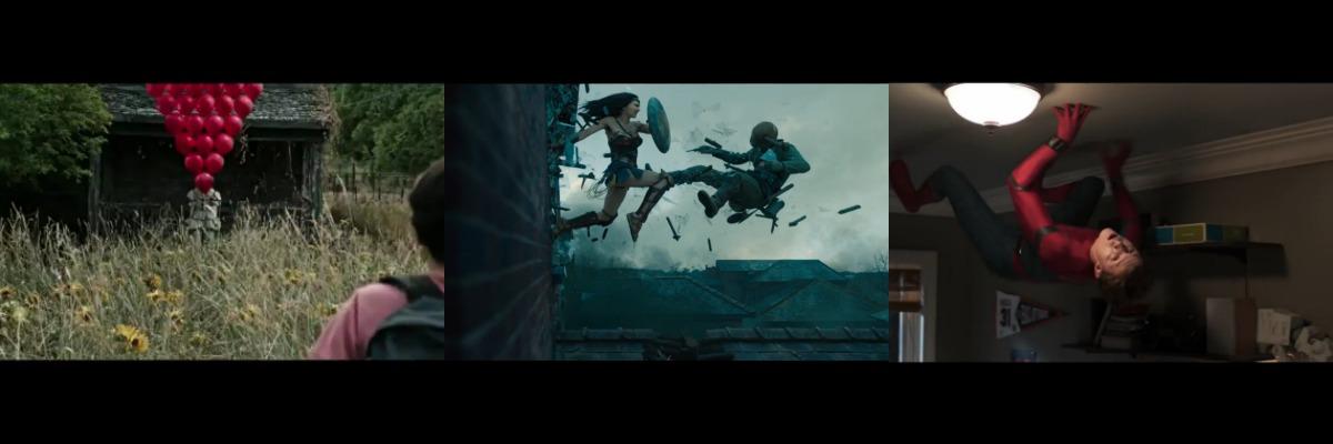 Durante los MTV Movie & TV Awards se mostraron adelantos de It, Wonder Woman y Spider-Man: Homecoming
