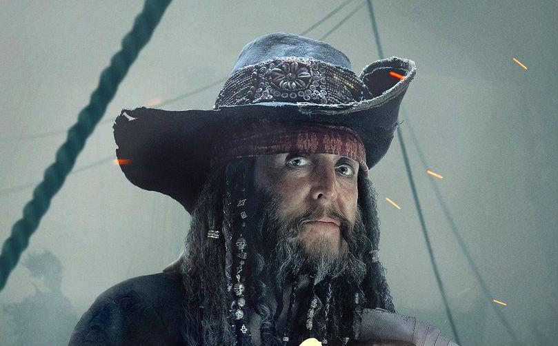 Así se ve Paul McCartney de pirata en Piratas del Caribe: La venganza de Salazar