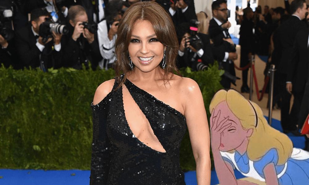 Thalía quiso presumir su fama en Instagram y terminó en epic fail