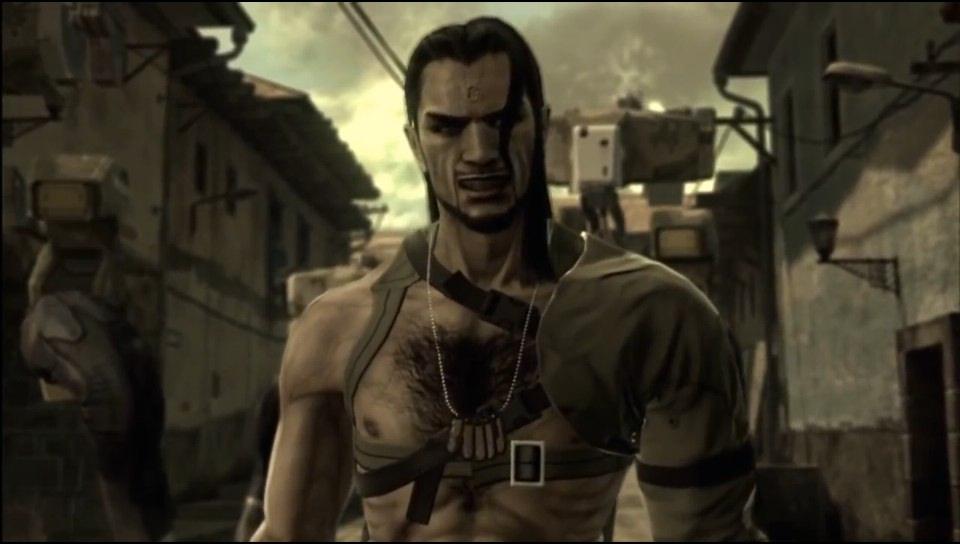 Vamp, un personaje abiertamente bisexual en Metal Gear Solid