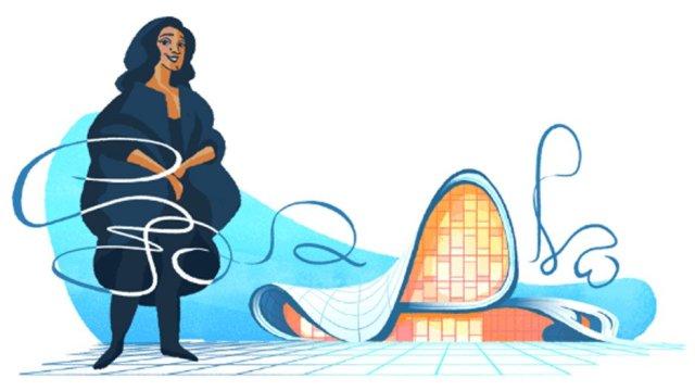 Zaha Hadid, la arquitecta que sorprendió a Google y tienes que conocer
