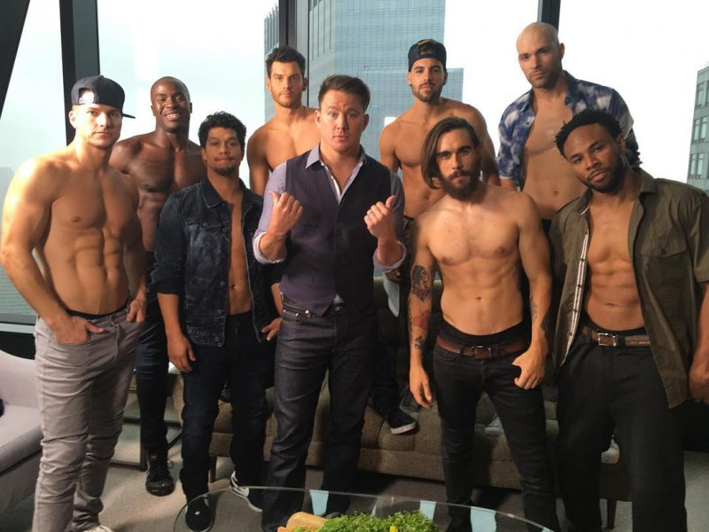 Las sexys audiciones de Magic Mike Live son perfectas para comenzar la semana