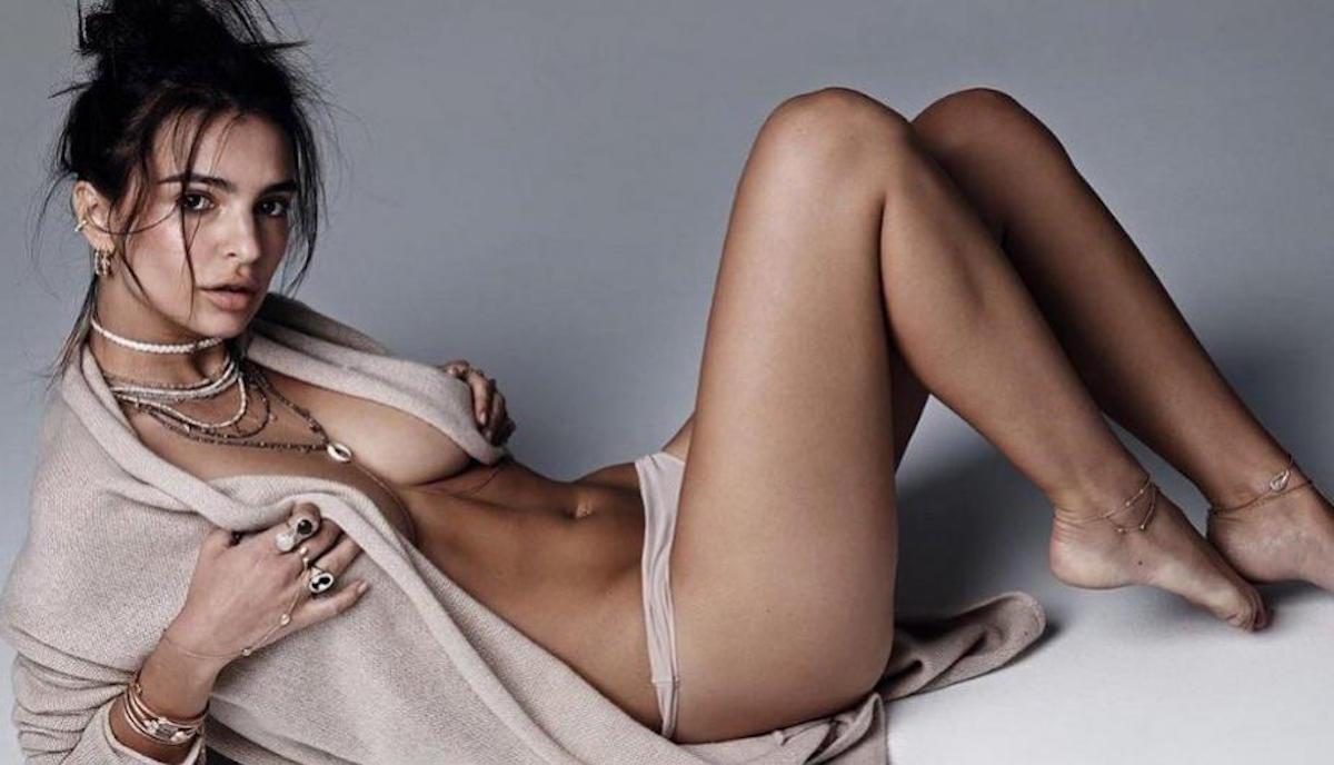 Emily Ratajkowski sorprende al mundo con un sexy bikini