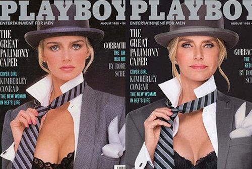 La madre del nuevo editor de Playboy