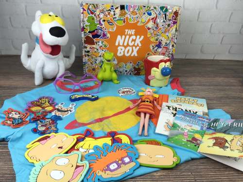 The Nick Box está llena de sorpresas