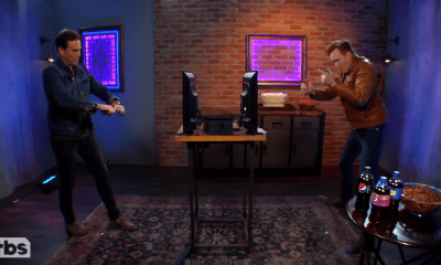 Conan O'Brien y Will Arnett (BoJack Horseman) jugando Arms