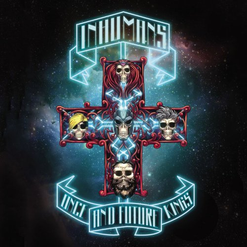 Appetite for Destruction de Guns N Roses protagonizado por Inhumans
