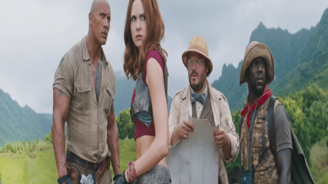 El año termina con Jumanji: Welcome To The Jungle