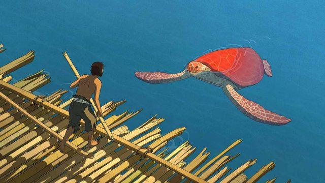 La Tortuga Roja es un largometraje animado dirigido por Michaël Dudok de Wit en cooproducción con Studios Ghibli