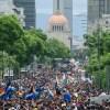 La marcha del orgullo LGBT en la CDMX