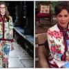 Critican a Paty Chapoy por vestir una pijama de Gucci en su programa
