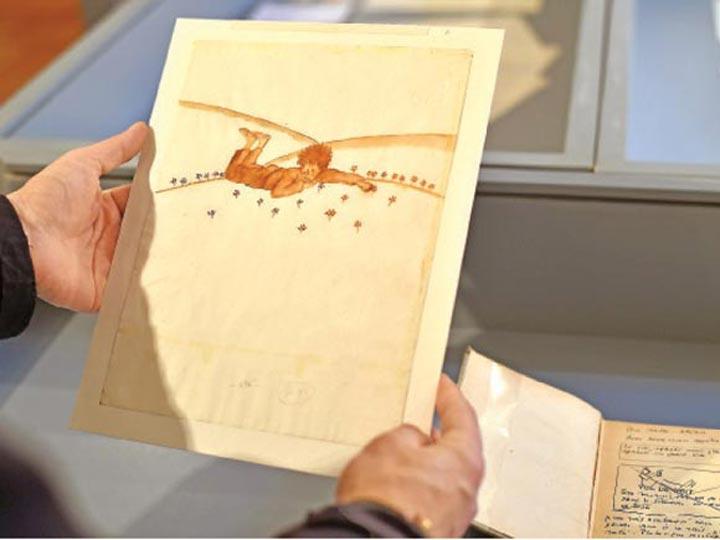 Dos acuarelas de El Principito fueron subastadas en unos medio millón de euros