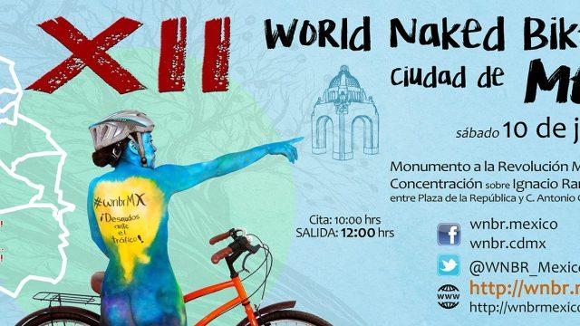 Convocatoria para la duodécima WNBR en la Ciudad de México