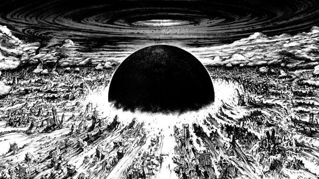 La destrucción de Tokio en Akira