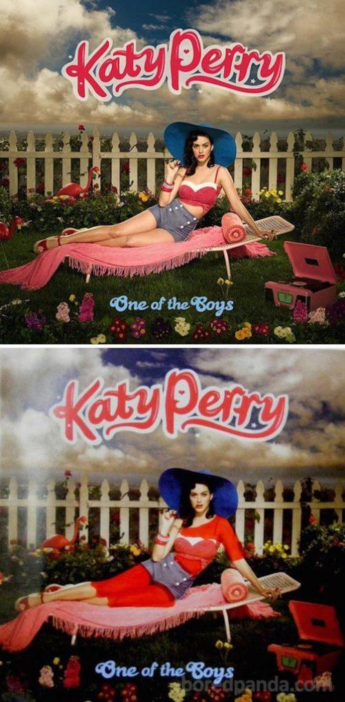 Portada censurada Katy Perry