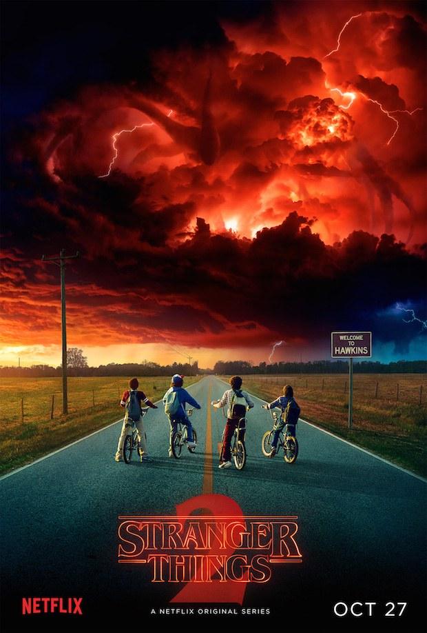 Nuevo poster Stranger Things segunda temporada
