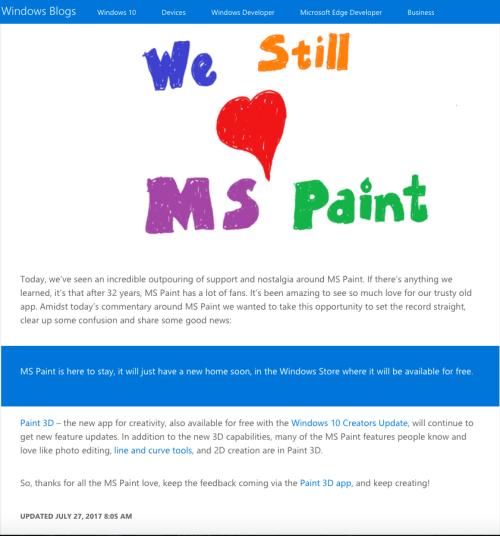 Paint no se va