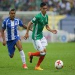 La Selección Mexicana juega contra Honduras