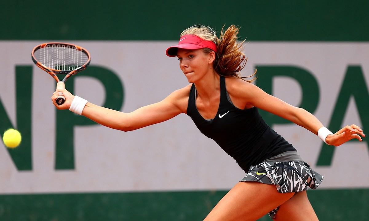 La joven tenista llama atención por belleza