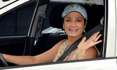 Alejandra Procuna ahora es chofer de Uber