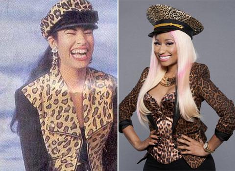 Nicky Minaj copia a Selena Quintanilla