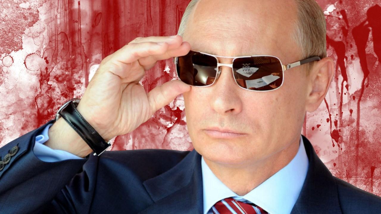 Vladimir Putin toma baños de sangre