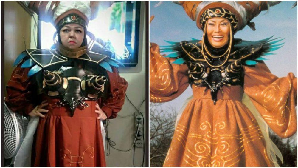 Rita Repulsa, cosplay de Tia Sol
