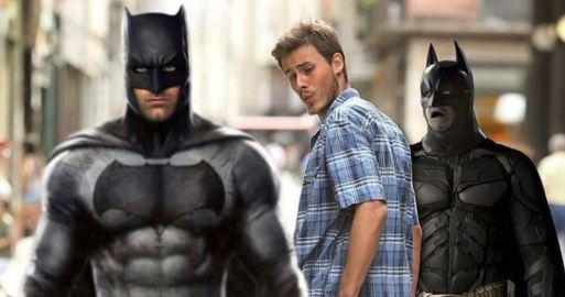 meme novio distraído batman