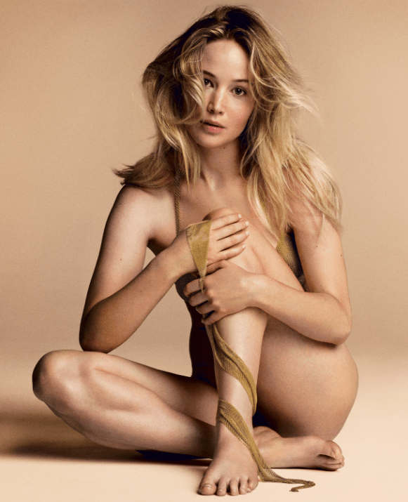Jennifer Lawrence desnuda vogue