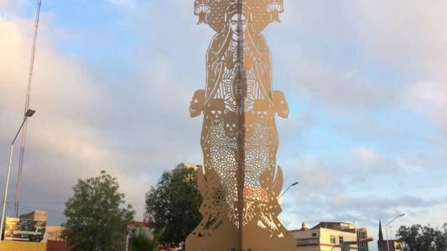 Piden remover escultura Virgen de Guadalupe por hereje
