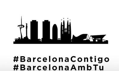 Imagen de apoyo y solidaridad tras los atentados de Barcelona