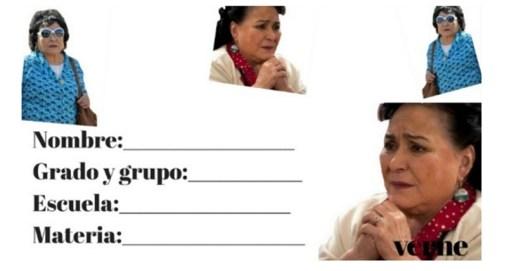 Etiqueta Carmen Salinas regreso a clases