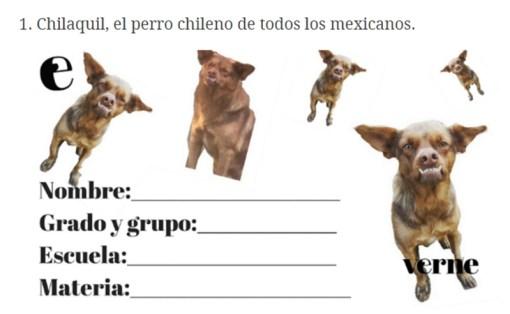 Etiqueta Chilaquil regreso a clases