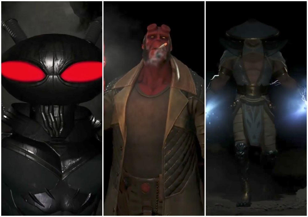 Fighter Pack 2, Black Manta, Injustice 2, Hellboy, Raiden, Teaser
