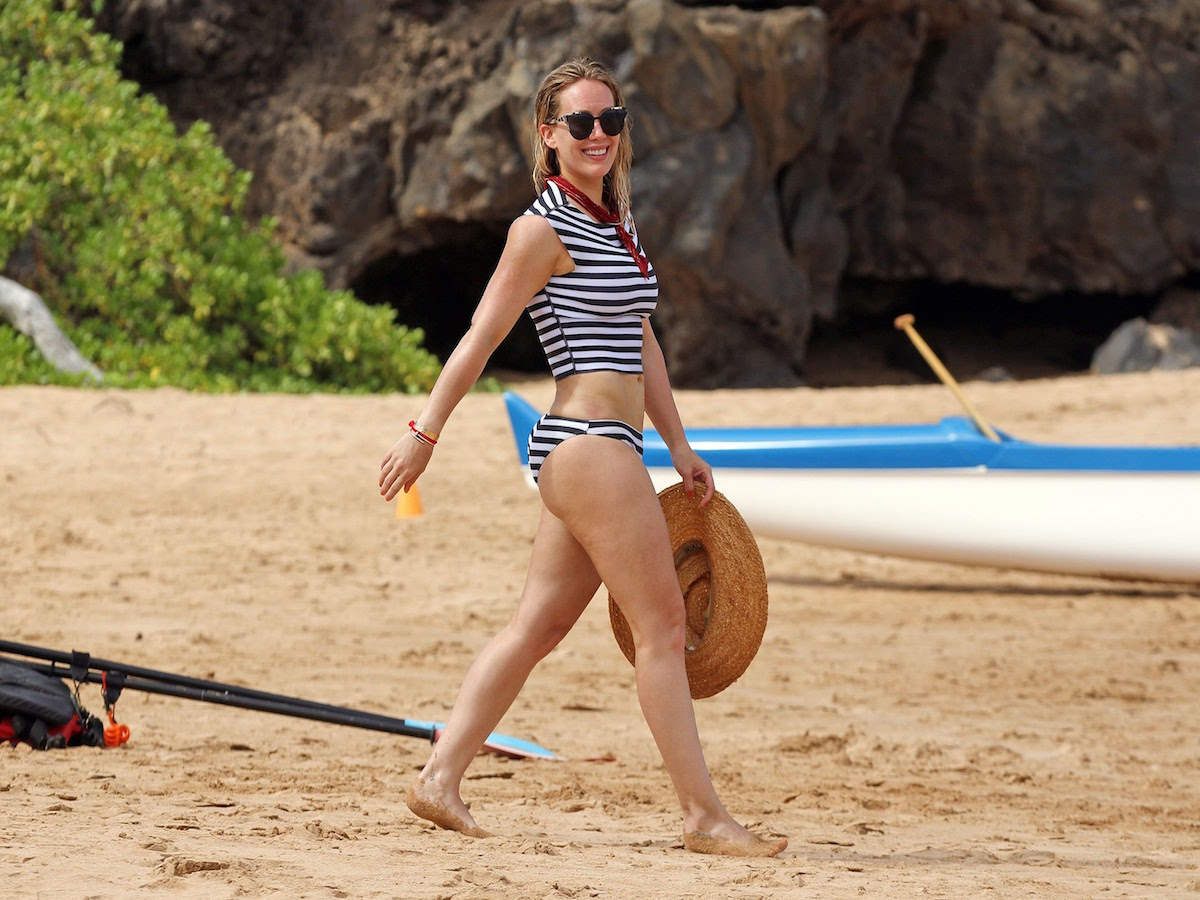 Hilary Duff presume en Instagram sus vacaciones