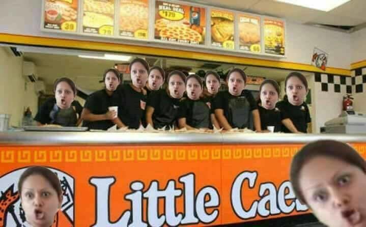 #LadyPizza nació por malentendidos en la promoción de Little Caesars