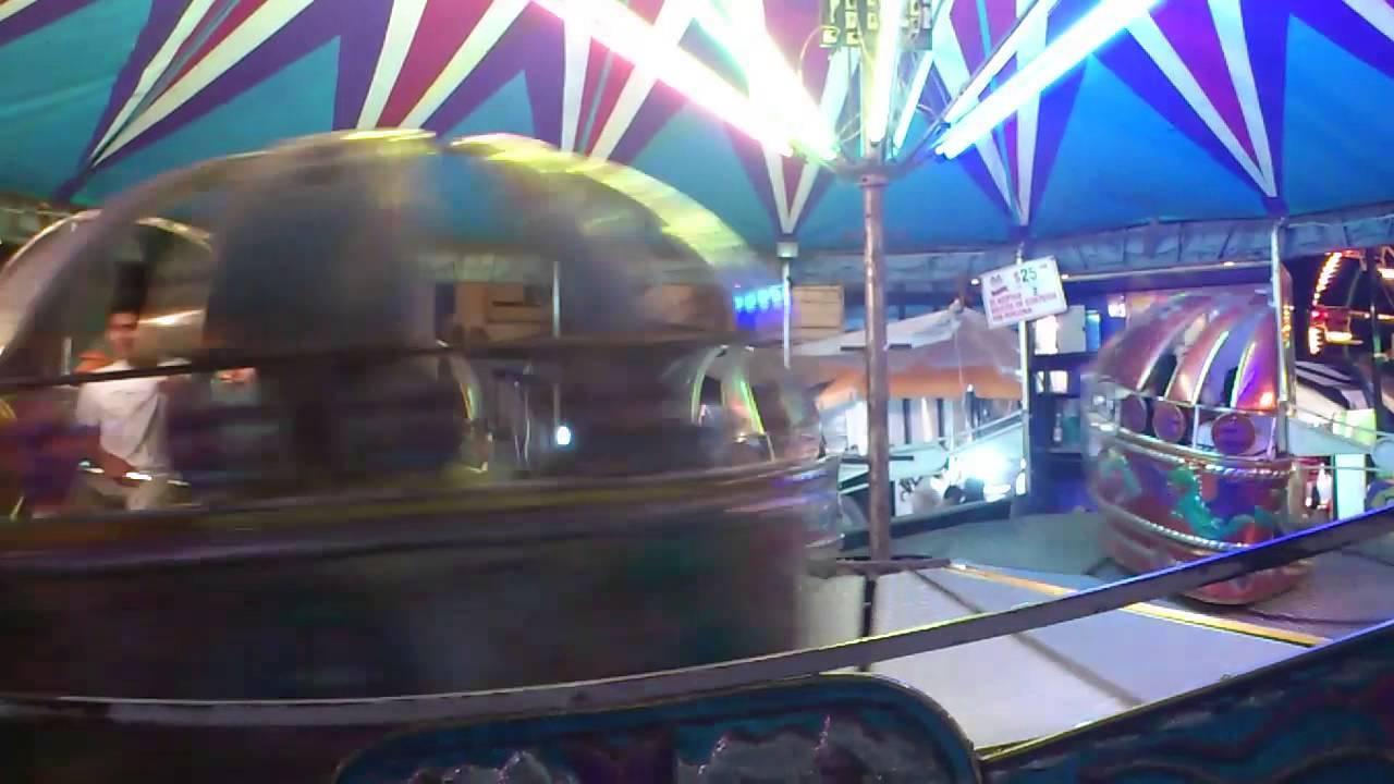 Falla juego mecánico en Zacatlán Puebla