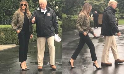 Critican a Trump por olvidarse otra vez Melania