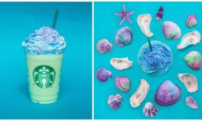 Starbucks México lanza el mermaid frapuccino
