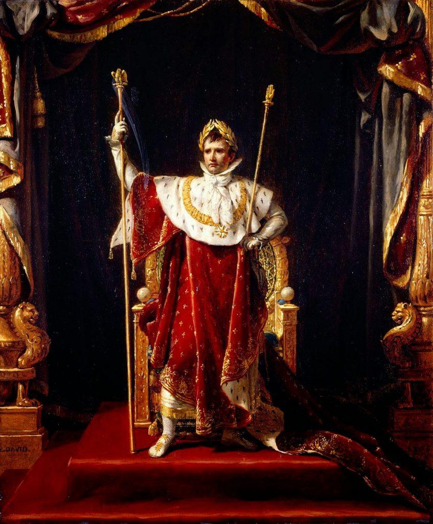 Retrato de Napoleón Bonaparte como emperador