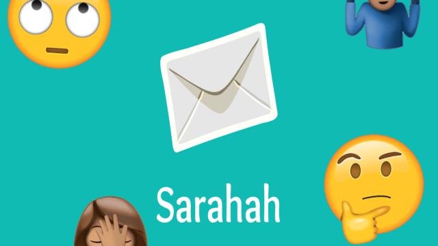 Anonimato digital desde la app Sarahah