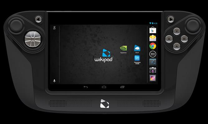 La Wikipad es una tableta Android con un control base