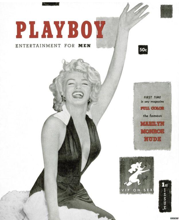 Marilyn Monroe en Playboy