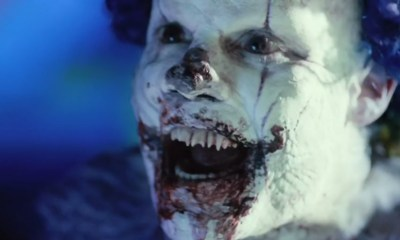 Kent (Andy Powers) en Clown (2014), payaso terroriífico
