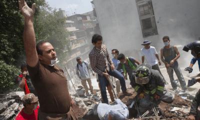 Solidaridad en la Ciudad de México después del sismo