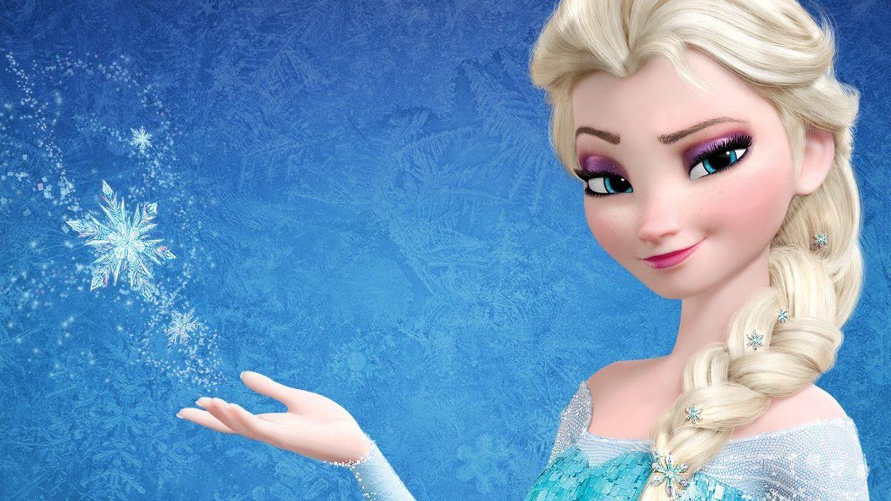 Elsa, reina de Arendelle, de la película Frozen, de Disney